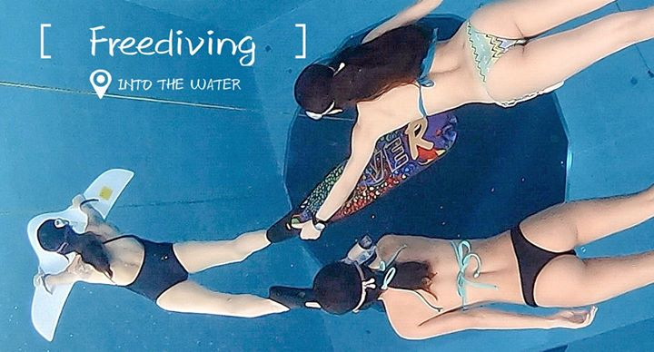 CommunityVideo  #Freediving @Divecube hotel   @Taichung, Tai...