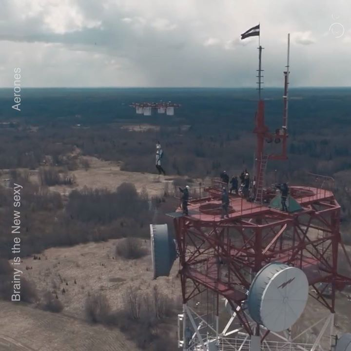 CommunityVideo  #skydiving via DroneThe worlds first drone j…