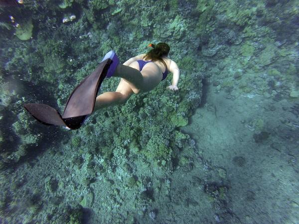一口氣下潛107公尺突破極限自由潛水女王再創世界紀錄