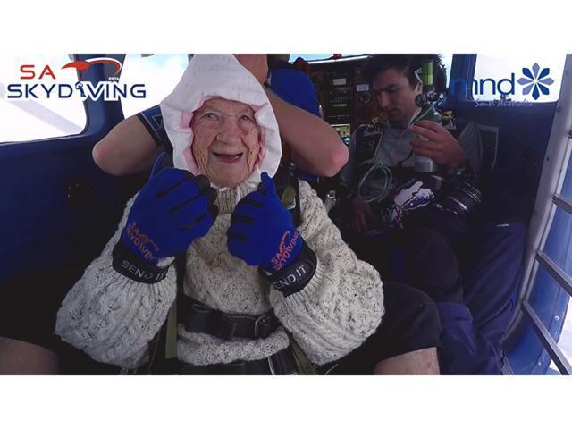 百歲婆婆學跳傘- 高慧然| 蘋果日報| 果籽| 名采| 20181217 - 香港蘋果日報