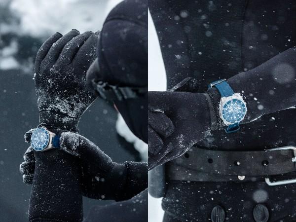 法國潛水冠軍挑戰極寒冰湖唯一裝備是「帝舵表」 | ET Fashion - ETtoday 新聞雲