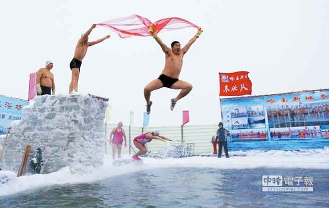 失聰陸女愛冬泳極限跳水難不倒 - 中時電子報