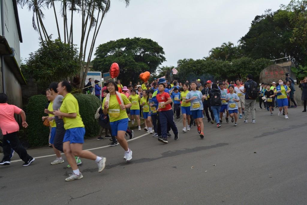 新北市六校共辦雞母嶺路跑賽  台灣英文新聞 - 台灣英文新聞