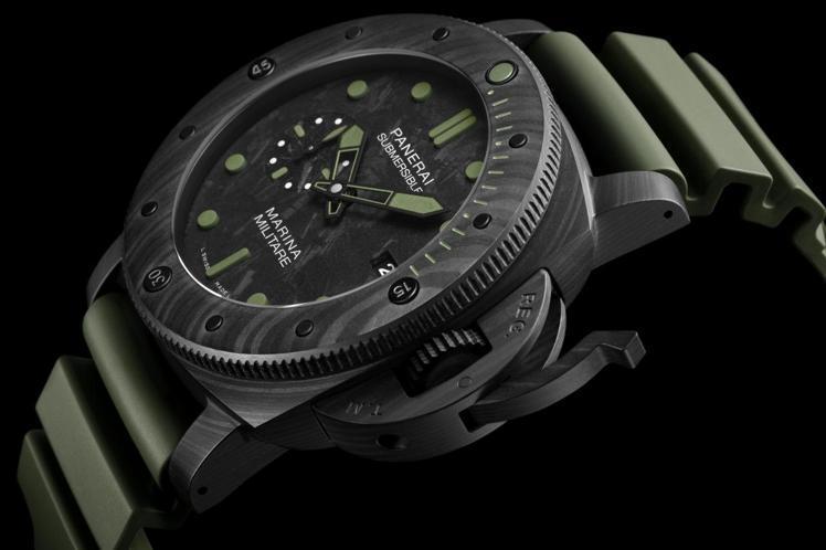 沛納海Submersible Marina Militare Carbotec特...