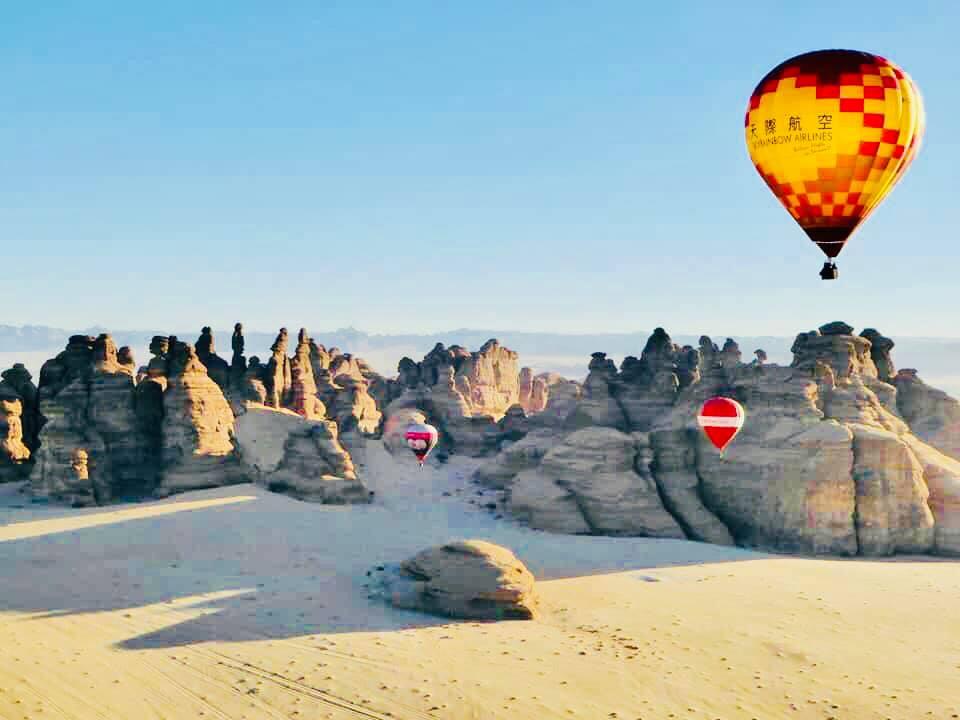 Skyrainbow Adventure in Saudi Arabia #天際航空沙烏地阿拉伯自由飛