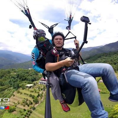 雨過 天就晴~ 來跟我一起飛吧~~  預約 小八 / 0936-061-881 公司 / 0911-009-009  #gopro #goprotw #埔里 #虎頭山飛行場 #飛行體驗 #台中 #南投 #埔里雙人傘公司 #paragliding #puli