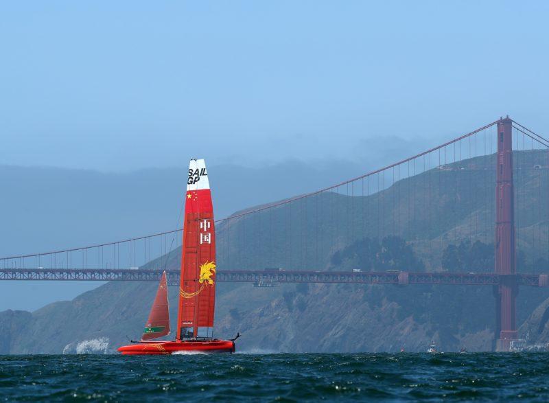 帆船——国际大奖赛开赛在即 中国队赛前热身_新华社