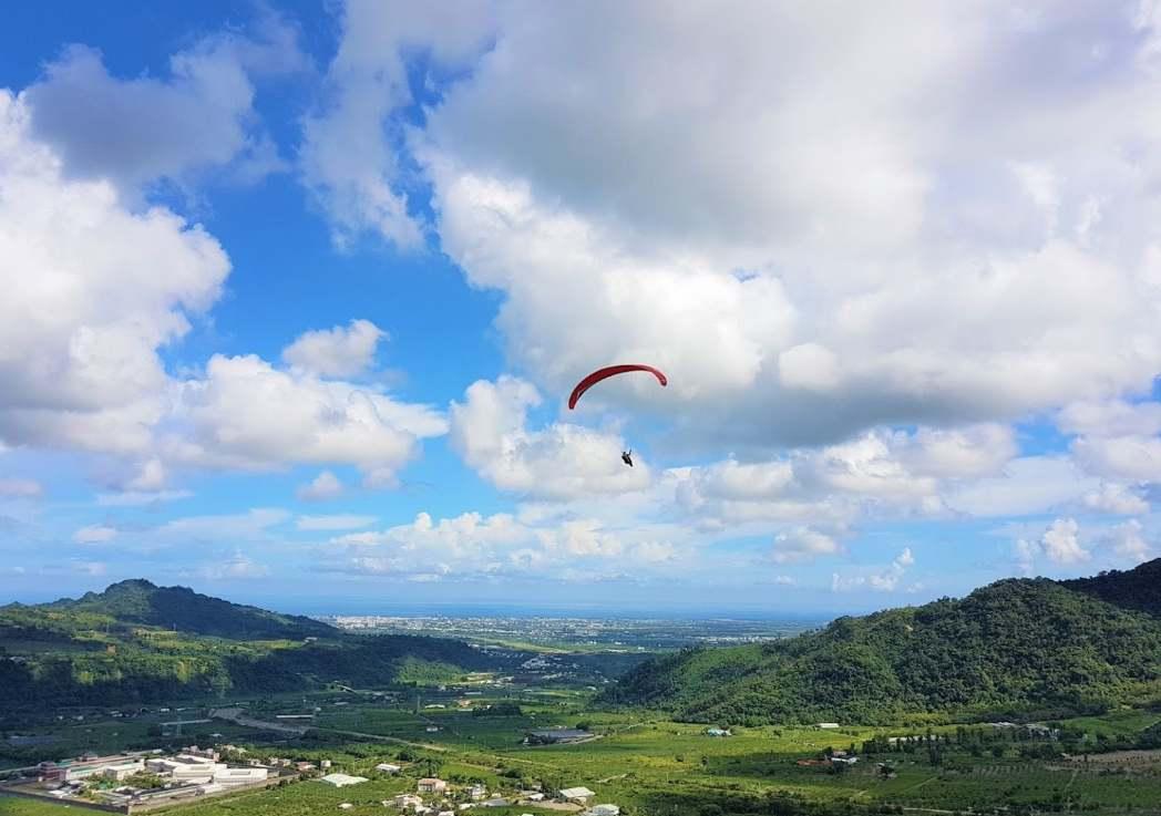 spot_paragliding_東台灣飛行傘俱樂部 卑南班鳩高台
