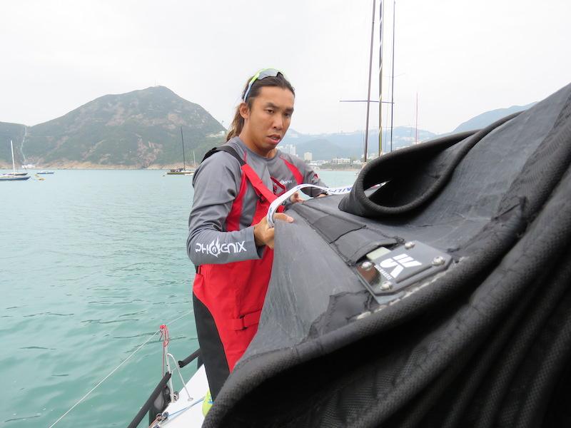 追風逐浪,帆船,帆妹,香港帆船週,謝劭傑