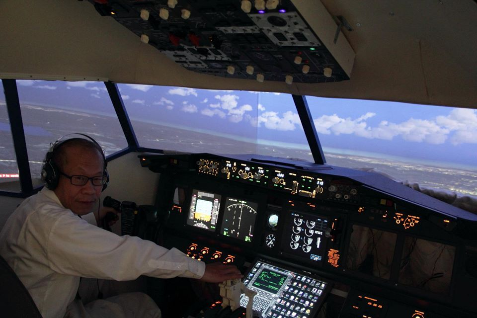 台北飛行模擬機中心 in Air