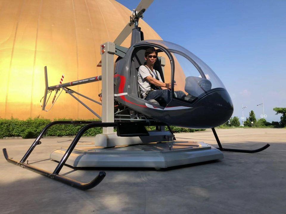 直昇機飛行模擬機-台中市西屯-想飛飛行俱樂部