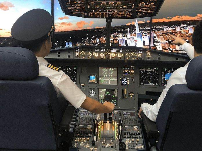 IPilot Flight Simulator Club taipei 101