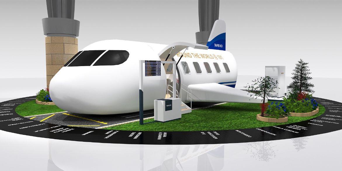 IPilot Flight Simulator Club - taipei101