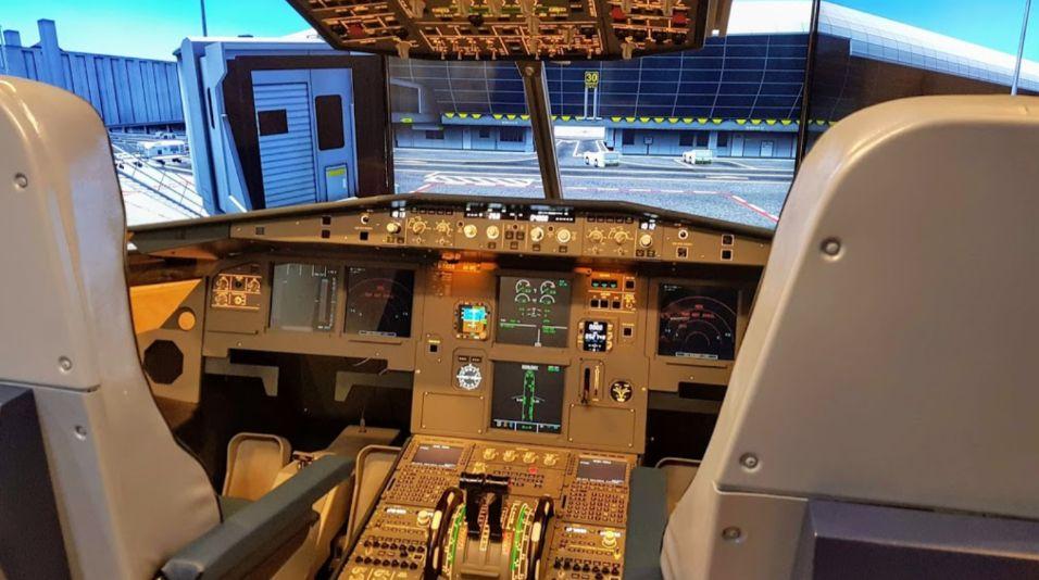 gta golden tiger air 模擬機體驗中心 pilot room airport