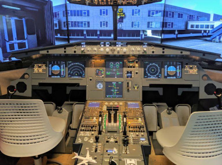 gta golden tiger air 模擬機體驗中心 pilot room