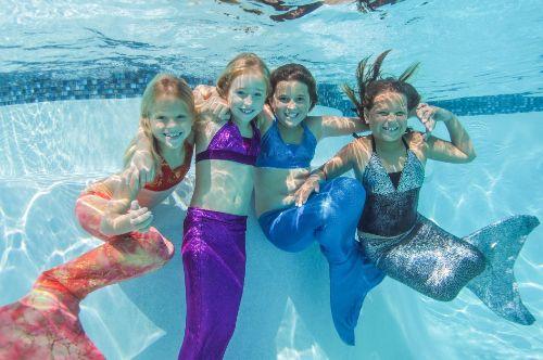 kids-MermaidDiving-girls