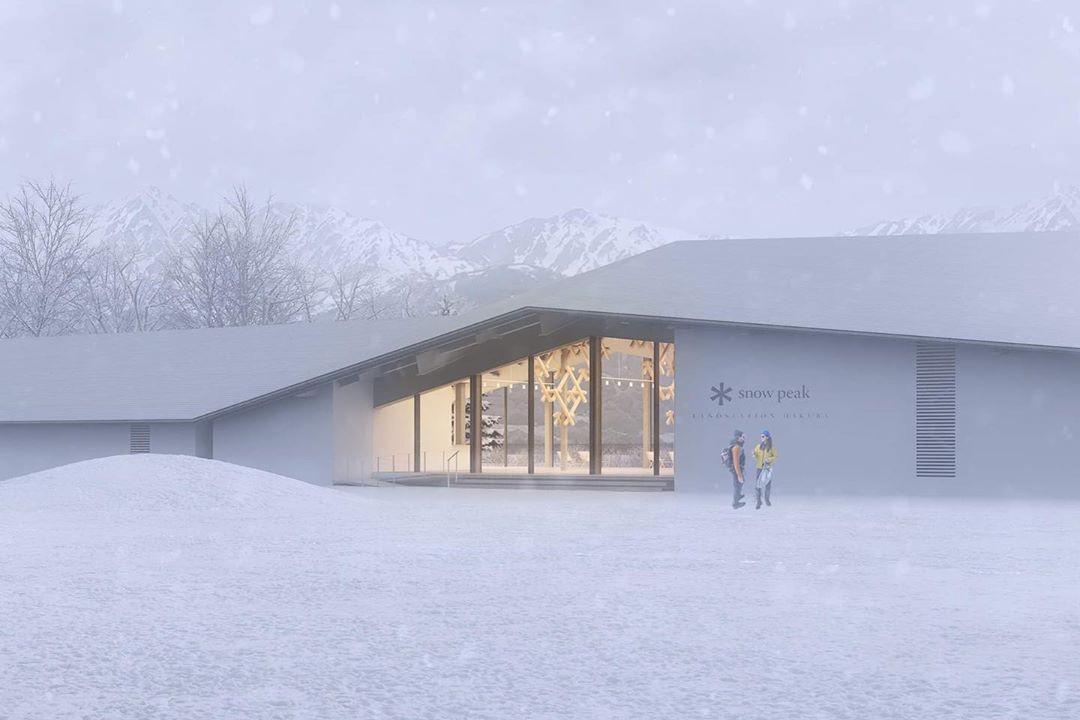 Snow Peak 於日本滑雪勝地打造了一座綜合性「戶外樂園」