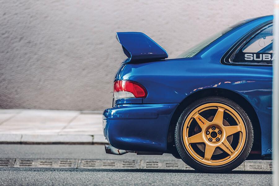 Subaru Impreza WRC東京市中心玩越野賽車 -...