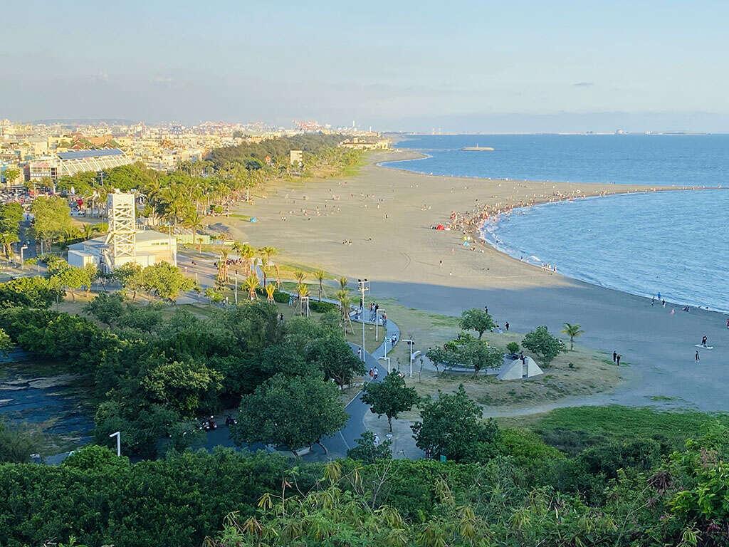 旗津水域將劃分為三區,提供給不同需求的遊客。圖:翻攝自高雄旅遊網