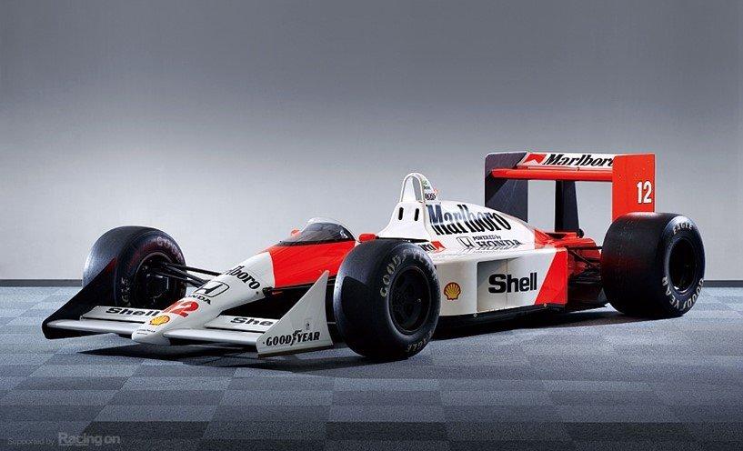 McLaren MP4/4最強戰車配最強車手 - FEATURES - TopGear