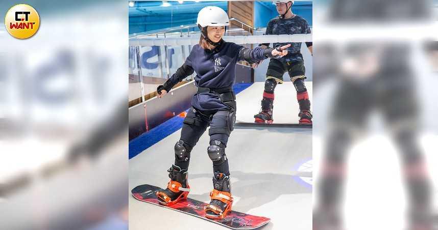 【政壇操肌美女2】用滑雪紓壓 鄭宇恩就愛極限運動 - CTWANT