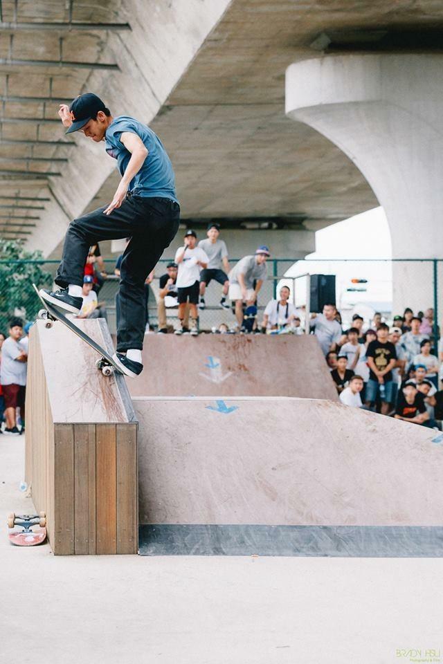 「357 Skate Crew」團隊回鄉舉辦活動盼推廣列入奧運的滑板運動。(圖由「357 Skate Crew」提供)
