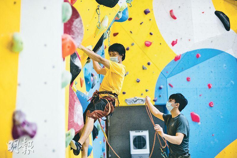 攀爬運動:一攻一守雙人合作玩「長線」 - 20201015 - CULTURE & LEISURE - 明報OL網