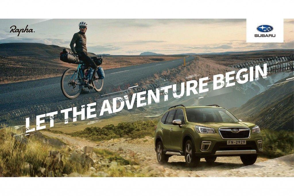 SUBARU與英國倫敦自行車服飾品牌Rapha®首度合作,創造舒適高質感的行車體驗! - Yahoo奇摩汽車
