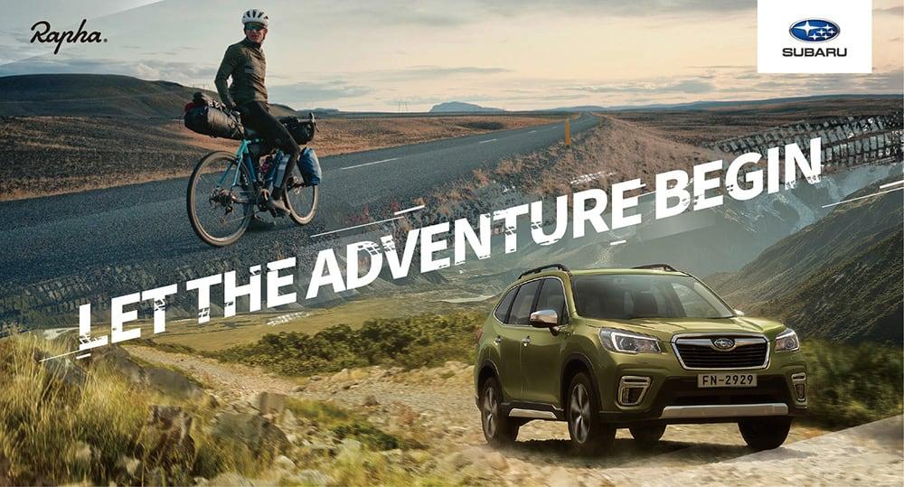 Subaru首攜手英國自行車服飾品牌Rapha合作、引領消費者創造舒適高質感行車體驗! - ZEEK玩家誌