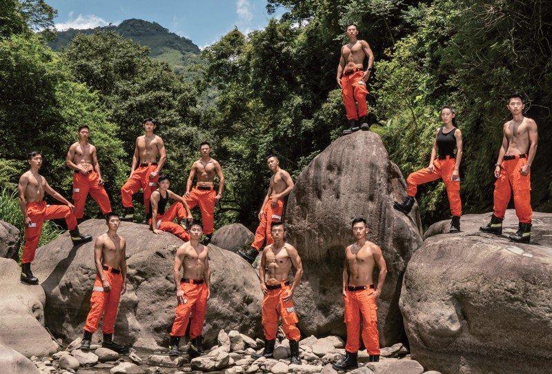 2021年新竹縣消防形象宣導月曆