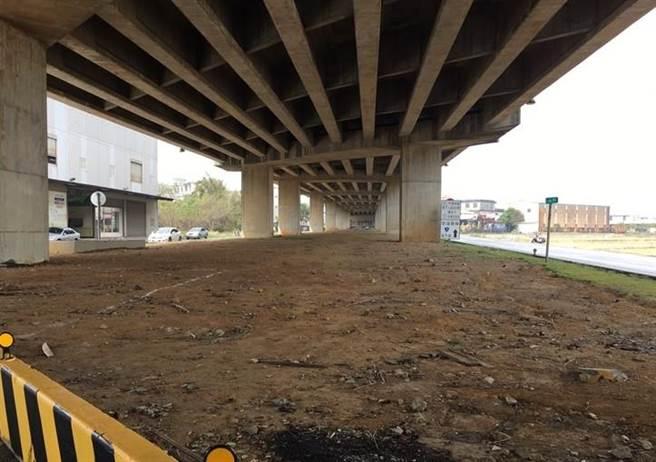 為照顧地方需求,平鎮區公所預計在台66線橋下空間規畫獨輪車比賽練習場。(翻攝照片/黃婉婷桃園傳真)