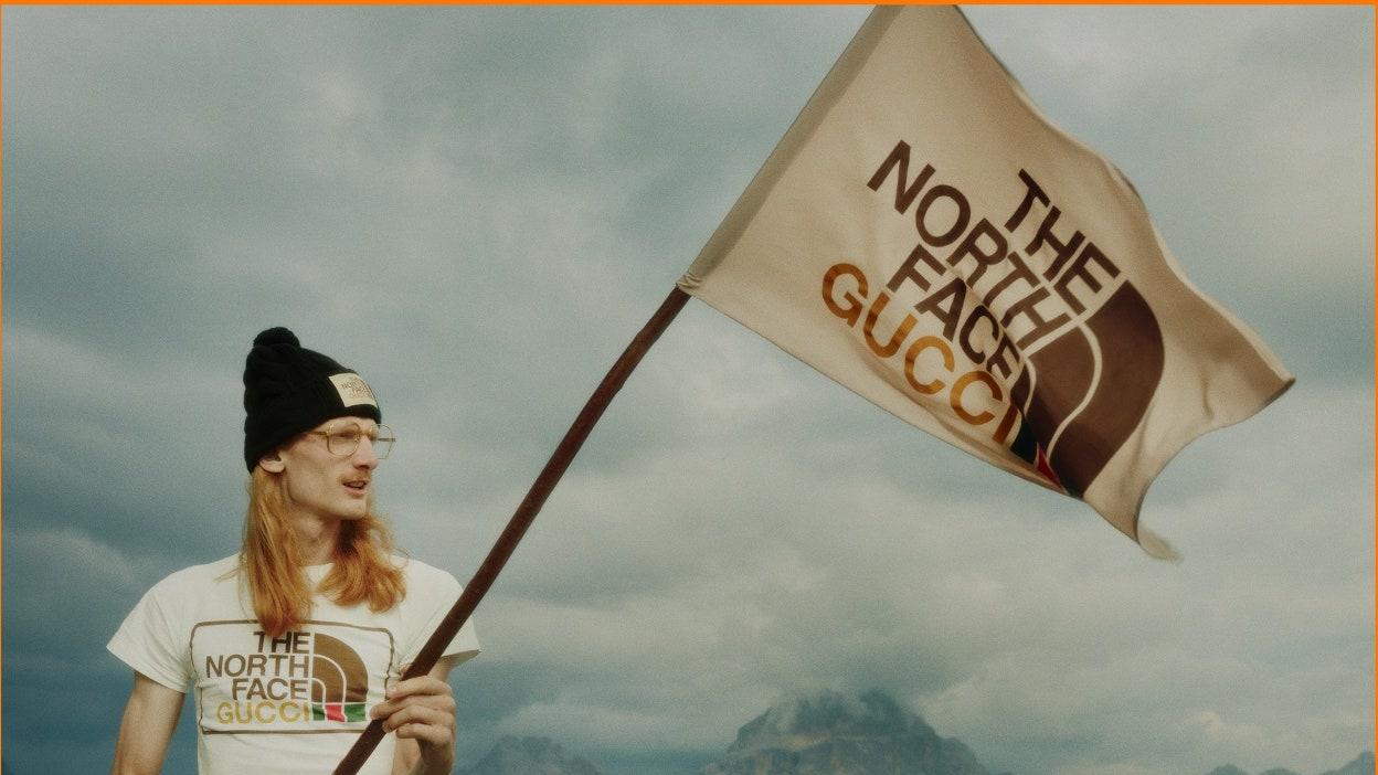 VG凹豆咖/最時髦outdoor聯名在此!The North Face x GUCCI聯名系列6細節與販售時間地點