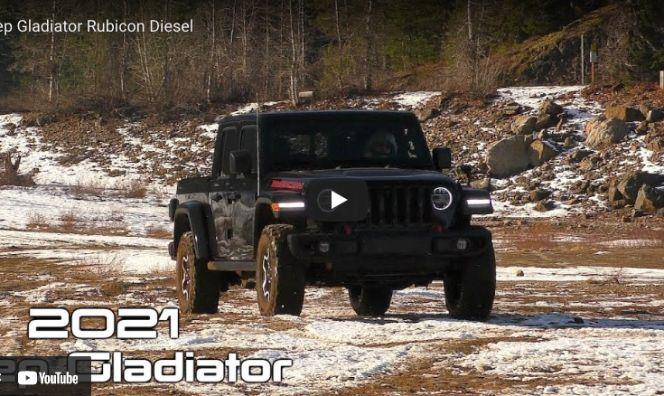 車評:柴油越野卡車 2021 Jeep Gladiator...