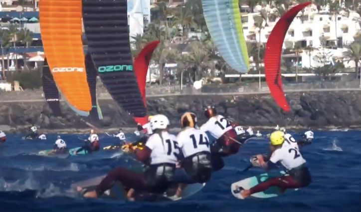 2024巴黎奧運新項目 風箏衝浪歐錦賽飆速74公里-民視新聞網 - 民視新聞