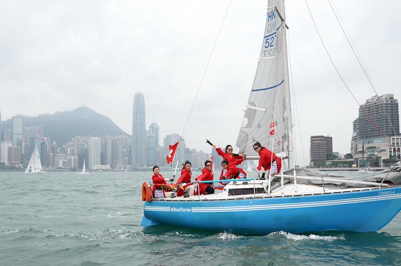 香港遊艇會,民族盃賽,帆船