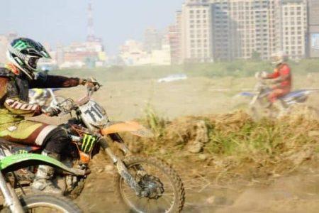 新竹頭前溪越野摩托車練習場