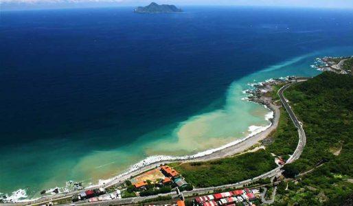 台灣衝浪點-宜蘭蜜月灣
