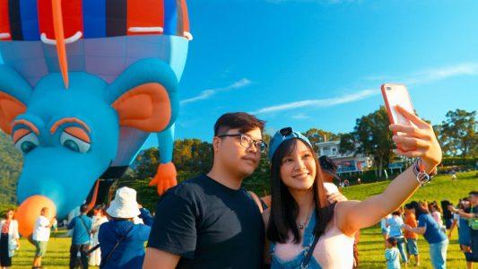 24顆熱氣球壯觀齊飛【2018台東熱氣球嘉年華】 Taiwan International Balloon Festival In 4K  | Shot on RED