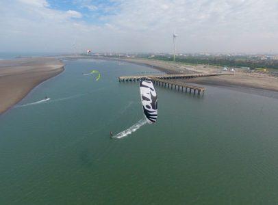 windsurfing kitesurfing spot - Taichung Kitesurfing Center