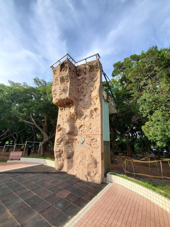 新北市 永和 攀岩場  獅子攀岩廣場❨永和福和橋❩